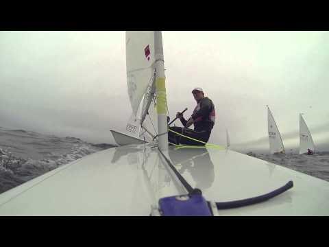 Laser Sailing 360 Penalty Turn - Olympian Rob Crane
