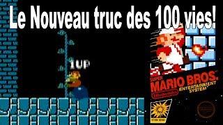 Nouveau truc de vies infinies sur Super Mario Bros sur NES