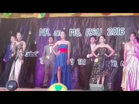 Lyn2's memorable experience ... Joined  Beauty Pageant ... RSU ...👠👗💄