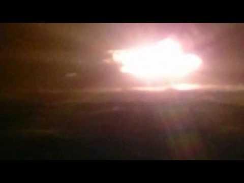 Azerbaycan petrol platformunda yangın çıktı