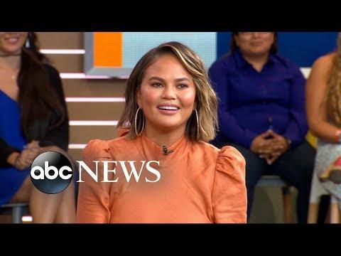 Chrissy Teigen Demos How To Make Her Signature Breakfast Bake On 'GMA'