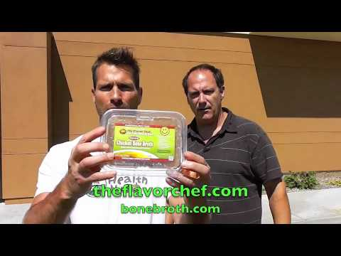 Bone Broth, organic food delivery San Diego with Lance Roll.