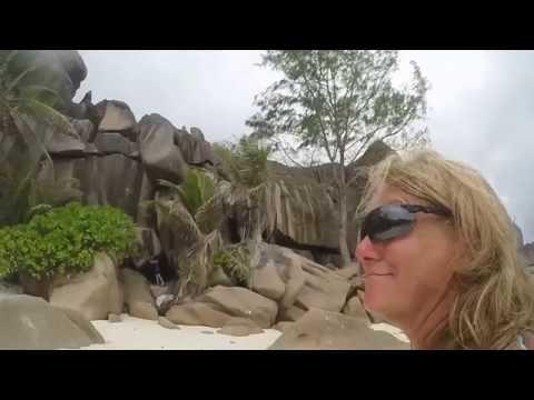 La Digue  Seyschelles 4K GoPro 4 Black Oktober 2016 Teil 2