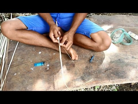 How to make a mini fishing hooks – Amazing Fishing – Asian Fishing – EP 8