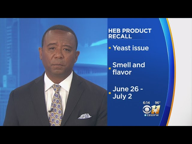 H-E-B Issues Quality Withdrawal For Bread And Buns Due To Unbalance In Yeast