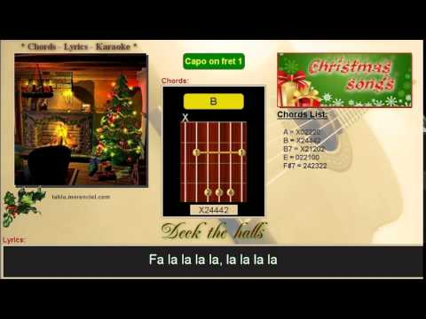 #0041 Deck the hall (Karaoke, no vocal)