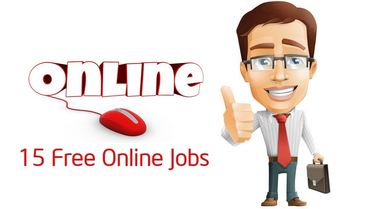 15 Free Online Jobs from Home - YouTube