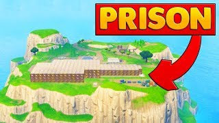 BUILDING A PRISON ON THE SPAWN ISLAND | Fortnite Custom Game thumbnail
