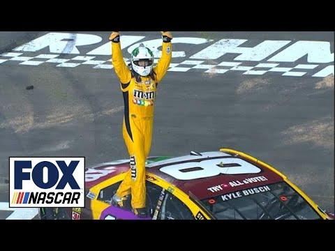 Kyle Busch scores third-straight victory | 2018 RICHMOND | FOX NASCAR
