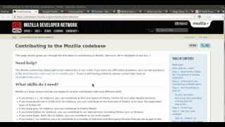 How to build Mozilla Firefox