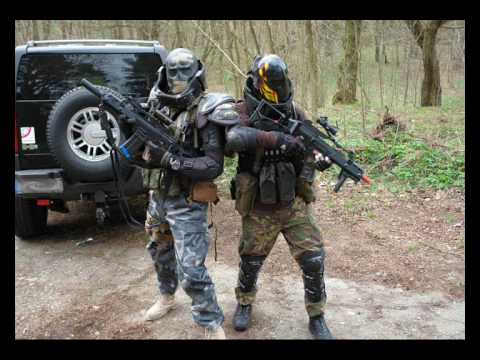 Häufig Airsoft army of two style.wmv - YouTube AA24