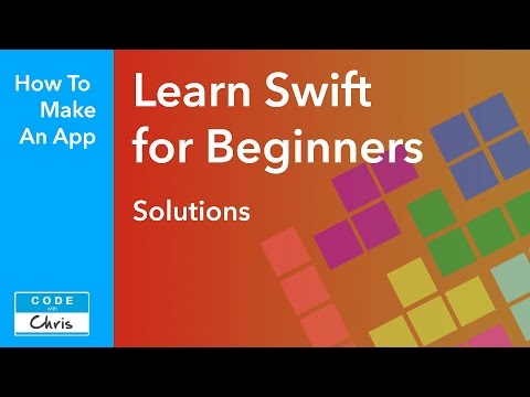 Learn Swift - Solutions for the Programming Challenges