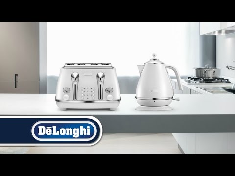 Icona Elements Breakfast Collection (Cloud White) by De'Longhi