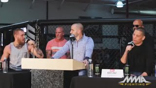 UFC 196 Press Conference: Conor McGregor vs. Nate Diaz (UFC 196 Conference)