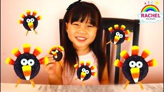How To Make Fun Turkey Cookies using OREO | Thanksgiving Cookies Fun for Kids