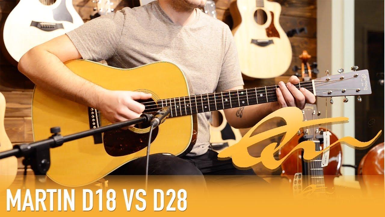 Martin D18 Review : martin d 18 vs d 28 review demo youtube ~ Hamham.info Haus und Dekorationen