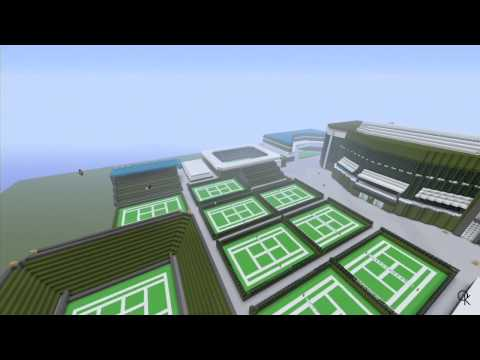 Minecraft: All England Club - Wimbledon (WIP)