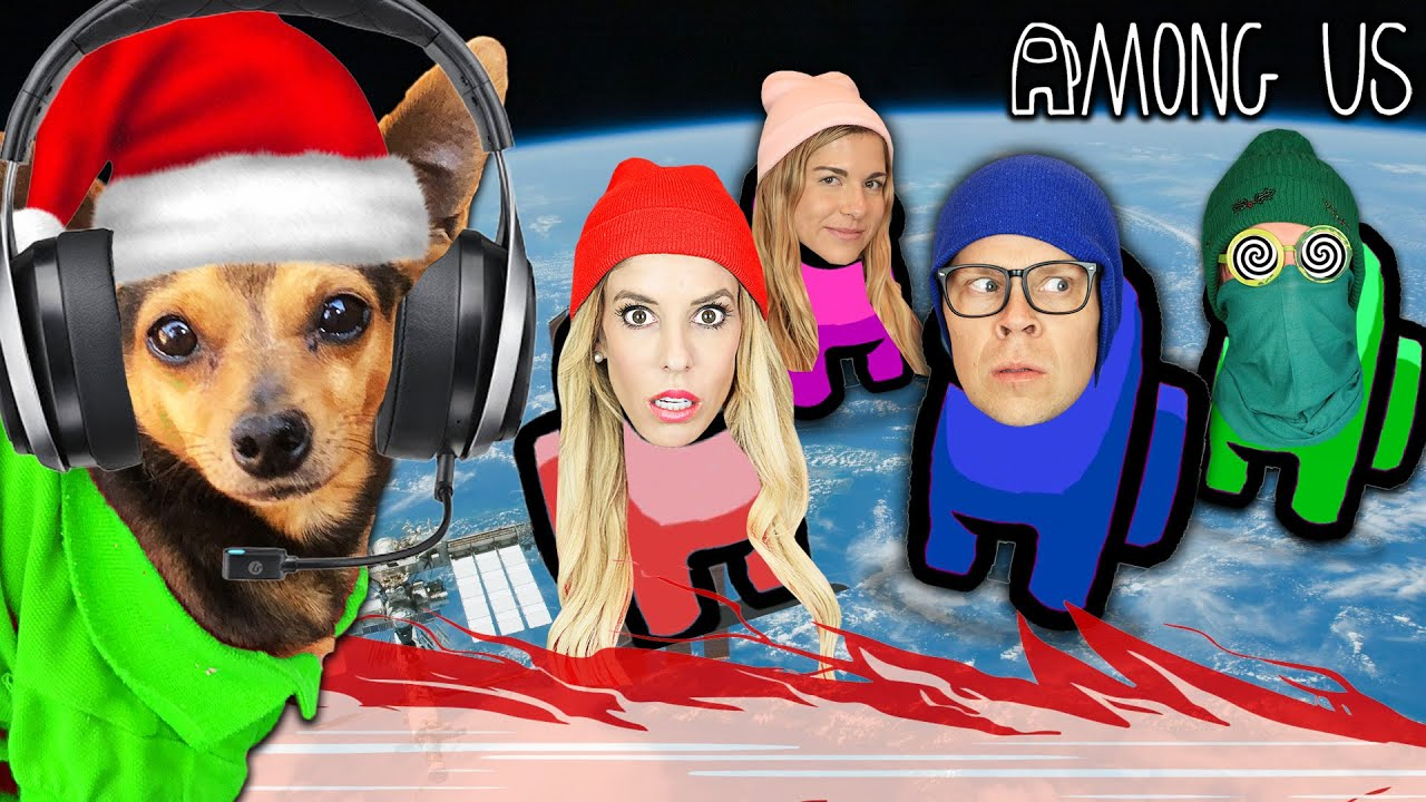 Dogs Play Among Us With Game Master Network for Christmas!  Imposter IQ 999