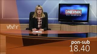 VTV Dnevnik najava 5. prosinca 2017.