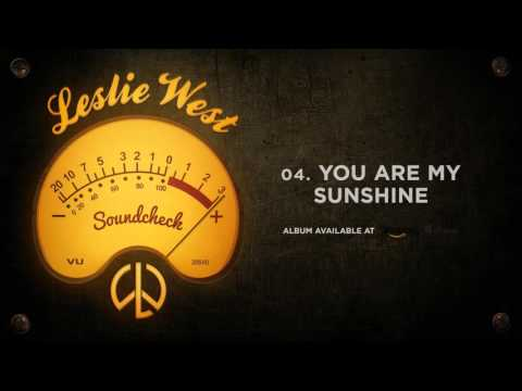 Leslie West - You Are My Sunshine (Soundcheck)