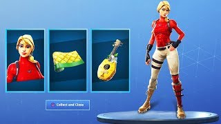 New LAGUNA SKIN STARTER PACK in Fortnite.. (New Season 8 Skin Pack)