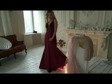 Вечернее платье PLUMERIA ПВД-32