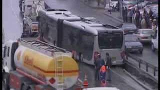 Metrobüs kazası, istanbul