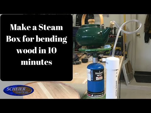 Make a Steam Box for Bending Wood