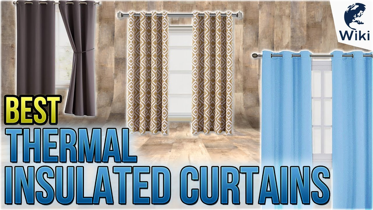 10 Best Thermal Insulated Curtains 2018 Youtube