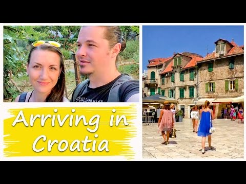 TRAVEL CROATIA | SPLIT | Vlog 55 - First Day in Croatia
