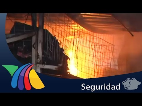 Incendio en Plaza del Estudiante | Noticias