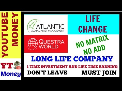 ATLANTIC GLOBAL ASSET MANAGEMENT II QUESTRA WORLD II 1 TIME INVESTMENT AND LIFE TIME EARNING