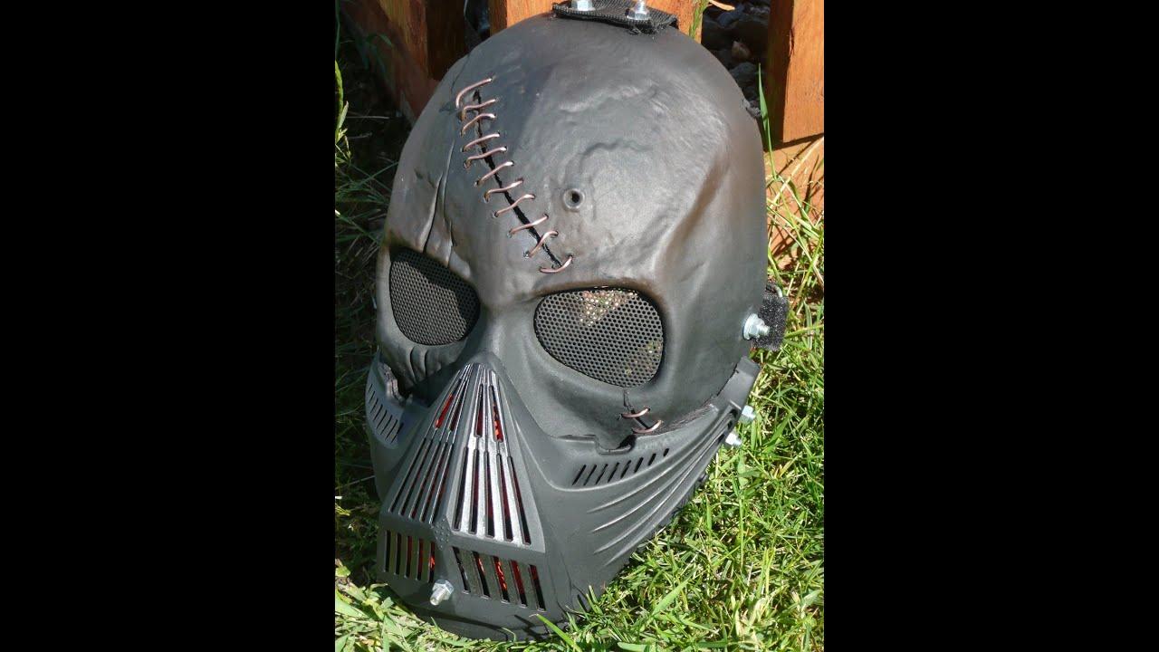 custom airsoft mask maker meet