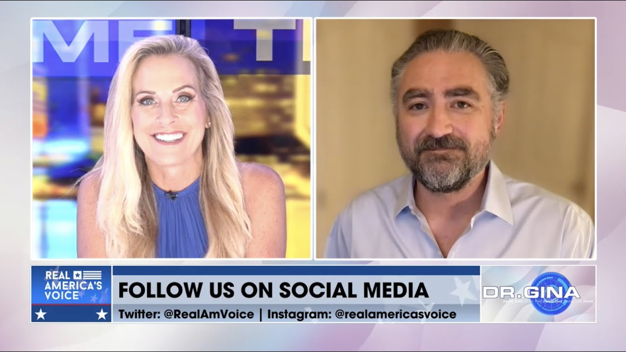 Karyn Turk Talks With Jahon Jamali About Cryptocurrency on Real America's Voice News