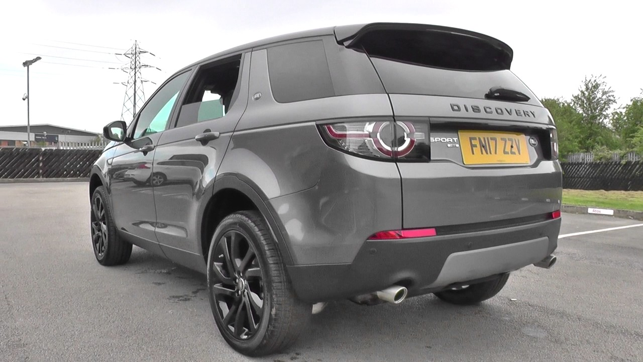 land rover discovery sport 2017my 180hp 7 seat hse black auto u11748 youtube. Black Bedroom Furniture Sets. Home Design Ideas
