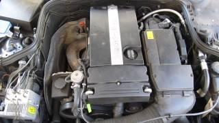 Mercedes E200 W211 Motor ruckelt stottert im Leerlauf