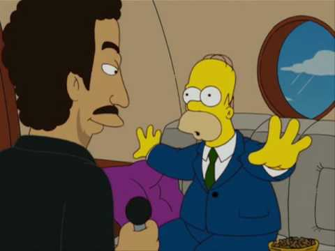 Morris Knight - That Time LIONEL RICHIE Appeared On The Simpsons!
