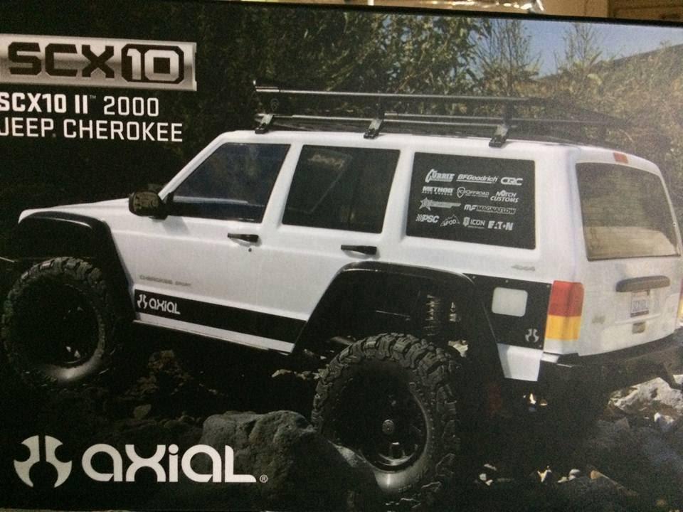 Axial Scx10 Ii 2000 Jeep Cherokee Leaked Box Art