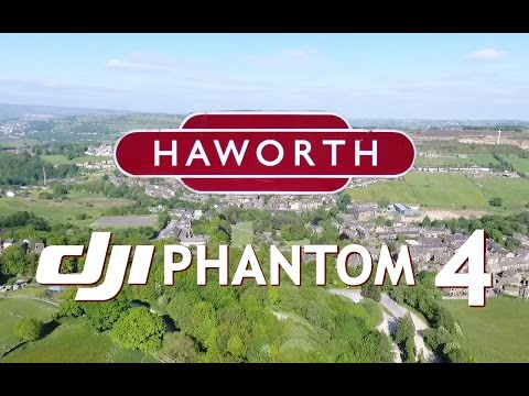 Haworth By Drone-DJI Phantom 4