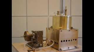 小型蒸気エンジンボイラー