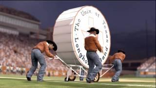 NCAA Football 2012: Texas Longhorns Team Entrance