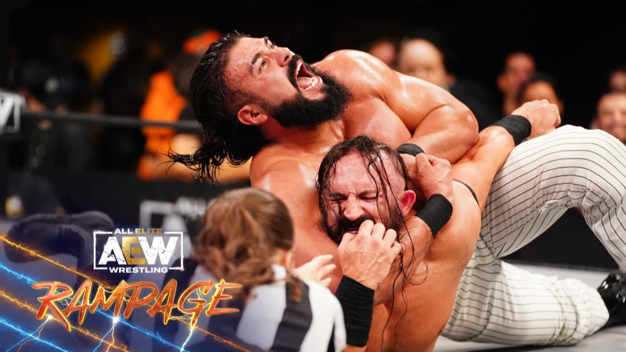 Pac v Andrade El Idolo 2: You Won't Believe How This One Ends!   AEW Rampage, 10/22/21