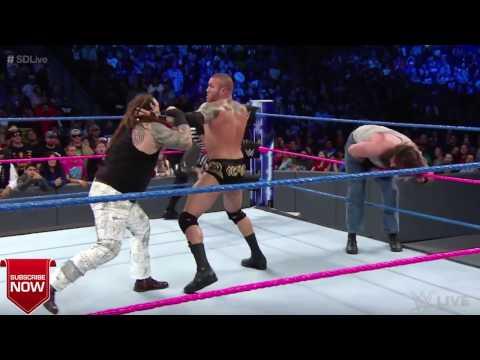 Randy Orton vs  Luke Harper: Fake Punches...