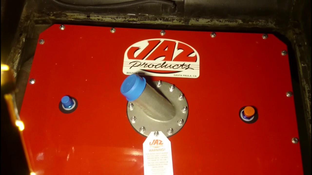 1969 Mustang Jaz Fuel Cell Installation