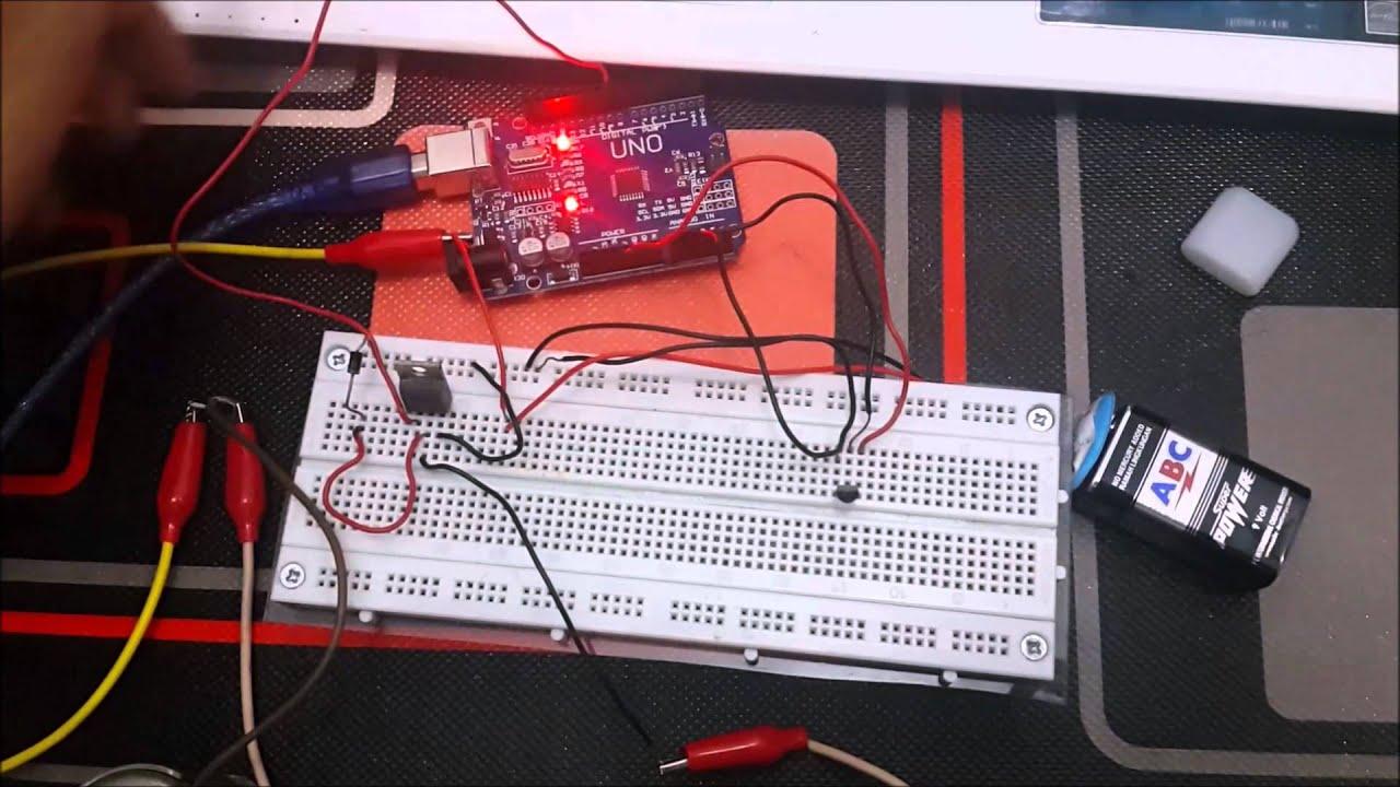 Cara Kerja Motor Dc Dengan Pengaruh Sensor Suhu Lm35 Basis Arduino Youtube