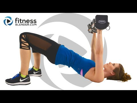 Get Strong! Upper Body Workout For Arms - Shoulders - Chest & Back (Descending Reps)