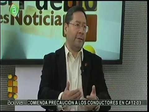 Ministro de Economia Hector Arce explica la Bonanza Economica de Bolivia