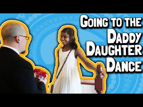 Going to the Daddy Daughter Dance 💃 // PLUS Dinner at Dine India