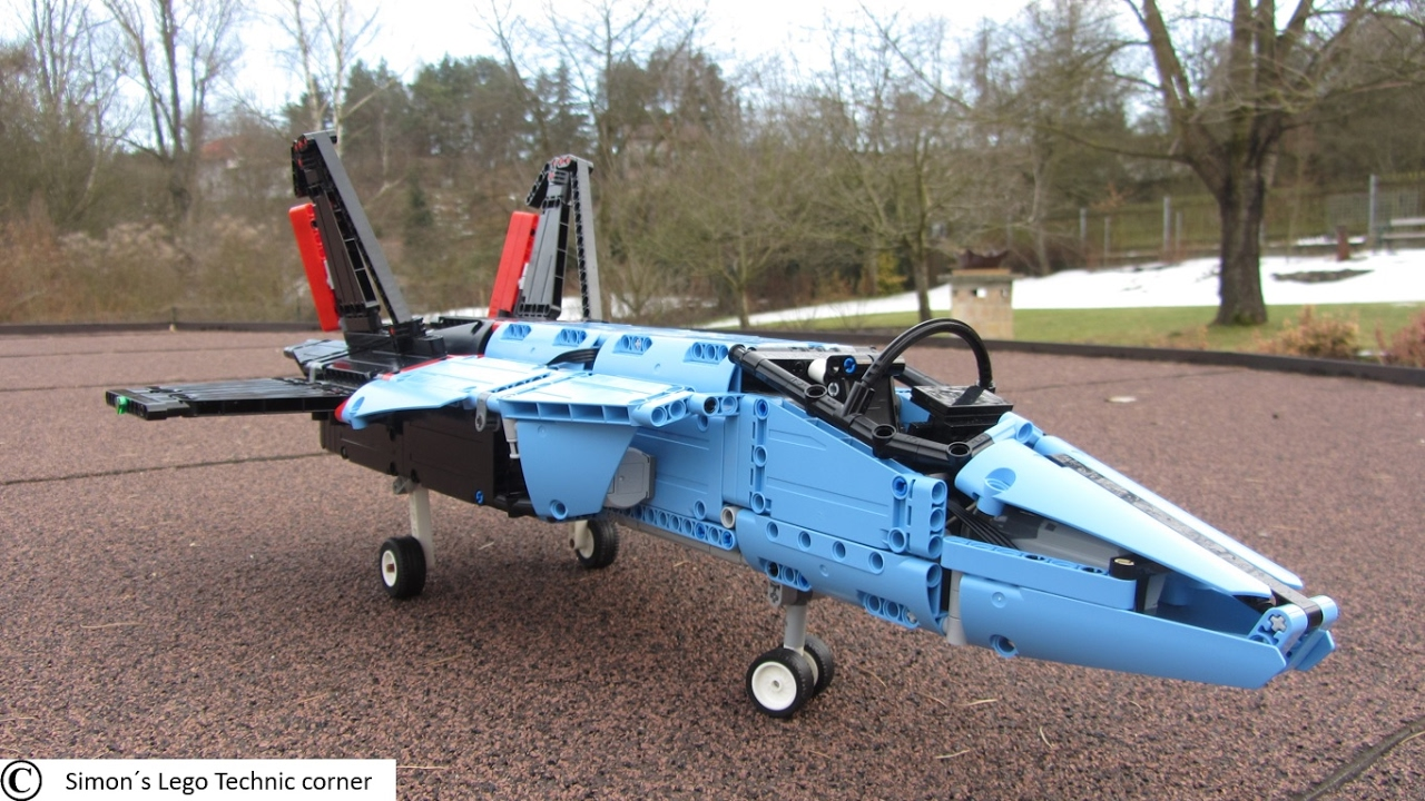 lego technic 42066 air race jet motorized can it fly. Black Bedroom Furniture Sets. Home Design Ideas