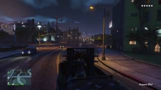 GTA 5 - Half-track quad cannons rampage